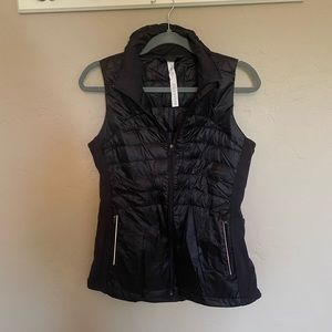 Lululemon Black Down Vest